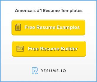 Free Downloadable Resume Examples - Resume Companion